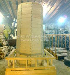 Декорирование основания мельницы