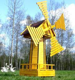 Декоративная мельница (для дачи, сада)