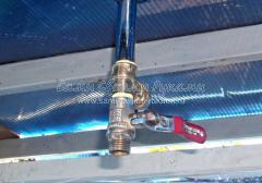 Модернизация дачного душа - установка дополнительного рассеивателя с гибким шлангом, фото