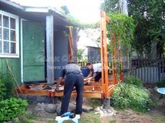 Как сделать крылечко с террасой в старом доме