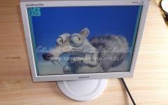 Ремонт блока питания монитора Samsung SyncMaster 510N (фильтр источника первичного электропитания), мастер-класс с фото