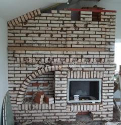 Строительство камина в доме на втором этаже