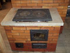 Ремонт печи из кирпича на даче