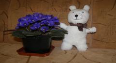 Как сделать игрушку из носка - Медвежонок