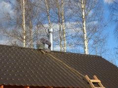 Печка (печь) из кирпича с встроенной каменкой для русской бани, как построить