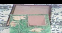 Рамка для фото из ткани