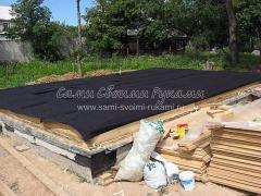 Строительство дома своими руками начиная с фундамента и до крыши