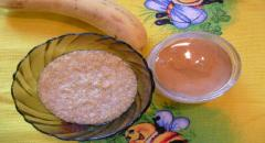 Банановая маска для рук (питательная)
