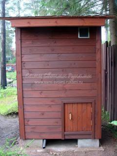 Строительство каркасного туалета для дачи