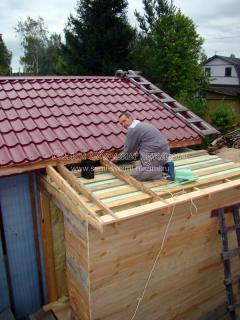 Как пристроить крыльцо к дому