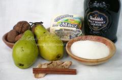 Ингредиенты для жареной груши
