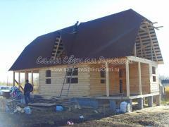 Как построить дачный домик