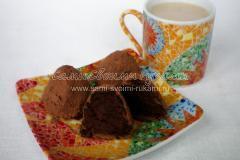 Подаем шоколадный трюфель