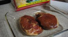 Свинина в соевом соусе - рецепт