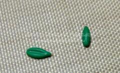 сделала листики зеленые