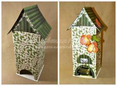 Чайный домик из картона своими руками, мастер класс с пошаговыми фото, Сами своими руками