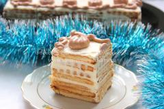 кусочек торта без выпечки