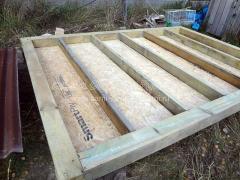 Утепленный сарай, как построить за пару недель