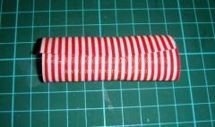 Новогодняя елочка из ткани