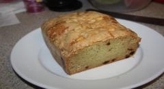 Кекс с яблоками - рецепт