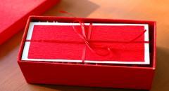 Упаковка свадебного подарка