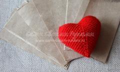 готовое сердечко валентинка