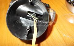 Как отремонтировать головной фонарик на светодиодах