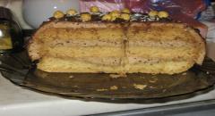 Торт Черный шелк