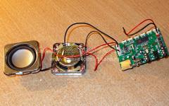 Ремонт переносной MP3 колонки