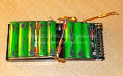 Как поменять аккумуляторную батарею на фонарике