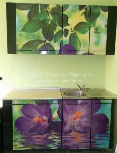 как декорировать кухонный гарнитур