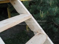 Домик для детей на даче в виде Корабля с трюмом