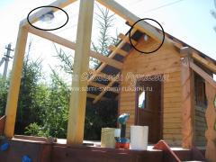 Домик для детей на даче в виде Корабля с трюмом - продолжение