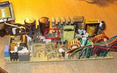 Ремонт компьютерного блока питания DPS-180MB A