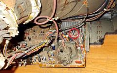 Ремонт телевизора LG с шасси MC64A