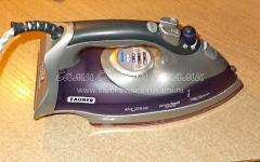 Ремонт утюга ZAUBER Z-260 (не работает нагрев)