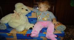 Детский диван своими руками
