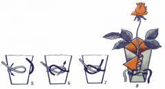 Упаковка цветов. Как упаковать цветы по-японски