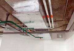 Прокладка кабелей, полки кабельные