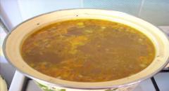 Суп с гречкой - рецепт