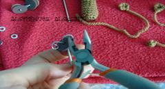 Шплинтовое соединение деталей игрушки