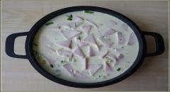 Запеканка из цукини - рецепт в яичной заливке (фото)