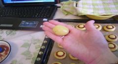 Печенье шампиньоны - рецепт