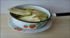 Баклажаны в чайном маринаде