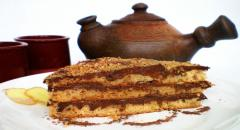 Рецепт имбирного торта с шоколадом