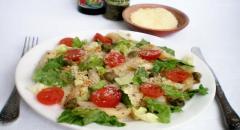 Рецепт пасты по-итальянски, с помидорами и пармезаном