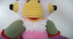 Попугай Кеша - схема вязания крючком