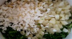 Кефирный суп с огурцом