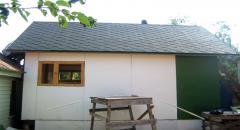 Как построить крышу для зимнего курятника (мягкая кровля)