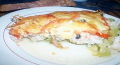Запеканка из кабачков с сыром и фаршем - рецепт с фото